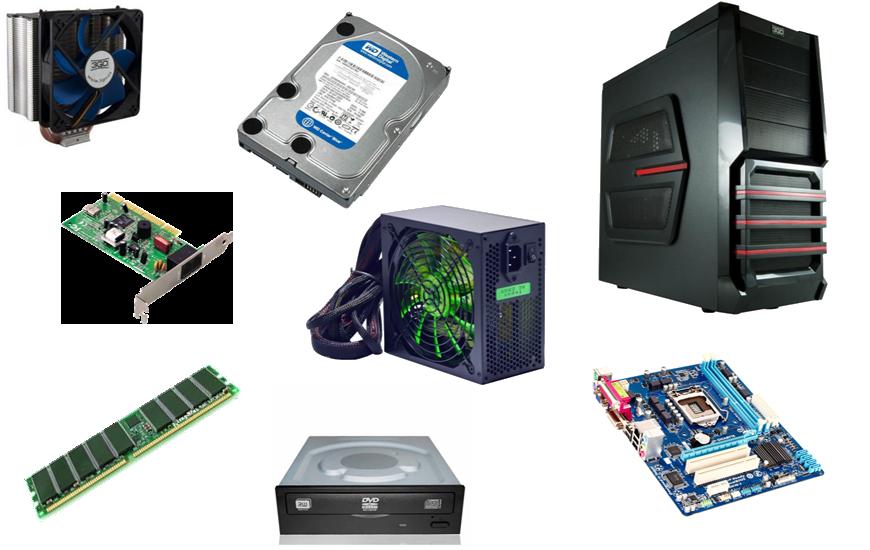Componentes procesador ram grafica otro hardware for Elementos de hardware