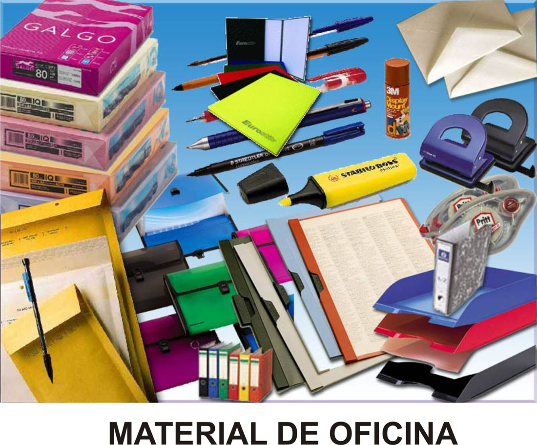 Pin papeleria material de oficina ofimatica on pinterest for Mayorista material oficina